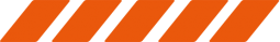 5 chevrons orange